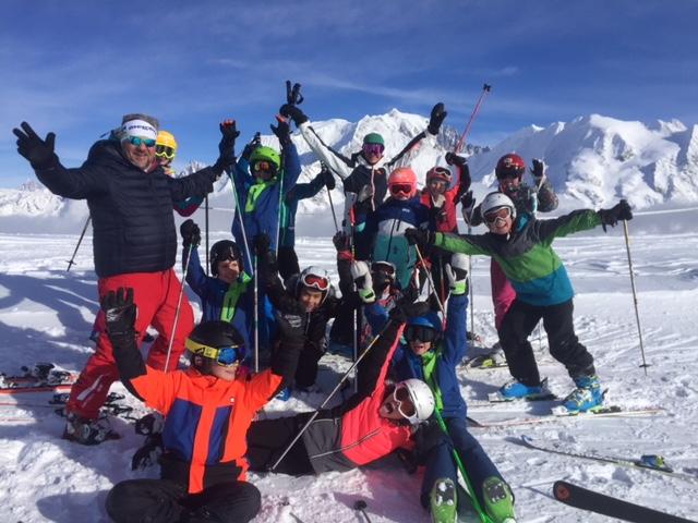 Sortie ski au Mont Joux